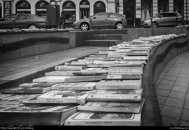 Books, Bucharest, Romania