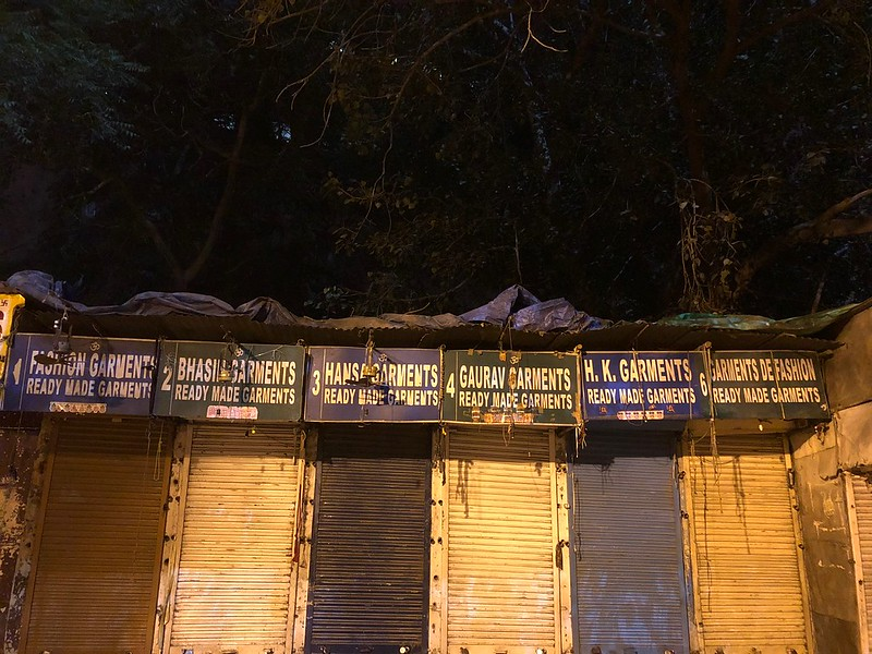 City Hangout - Janpath Flea Market at Midnight, Central Delhi