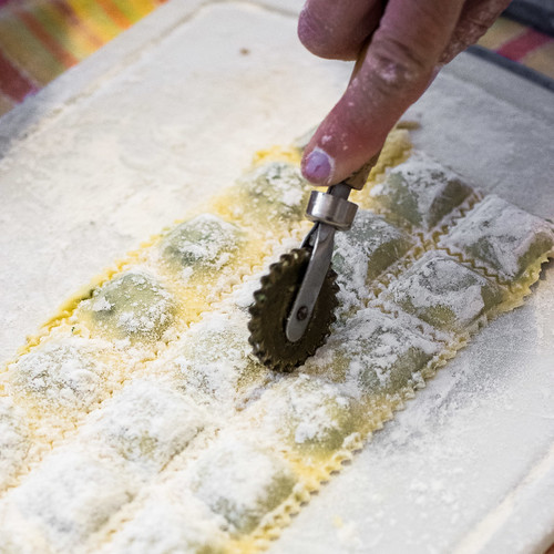 Ravioli di stufato step by step 3