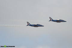 Patrouille de France - French Air Force - Dassault-Dornier Alpha Jet A - RIAT 2008 Fairford - 070711 - Steven Gray - IMG_6331