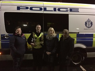A night with Police Scotland