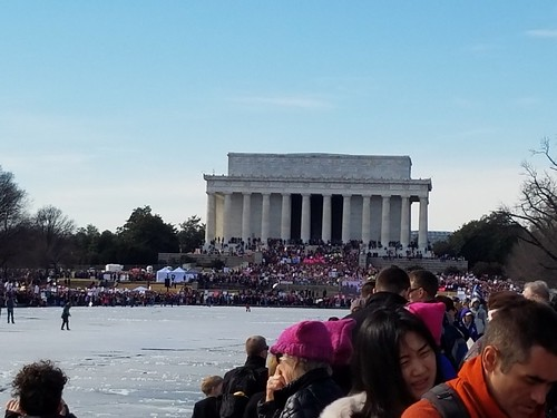 Rally at the Lincoln Memorial