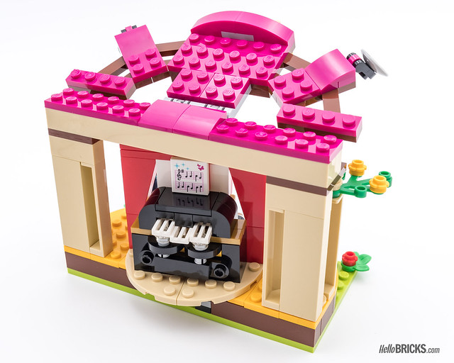 REVIEW LEGO Friends 2018 - LEGO 41334 Andrea's Park Performance 2