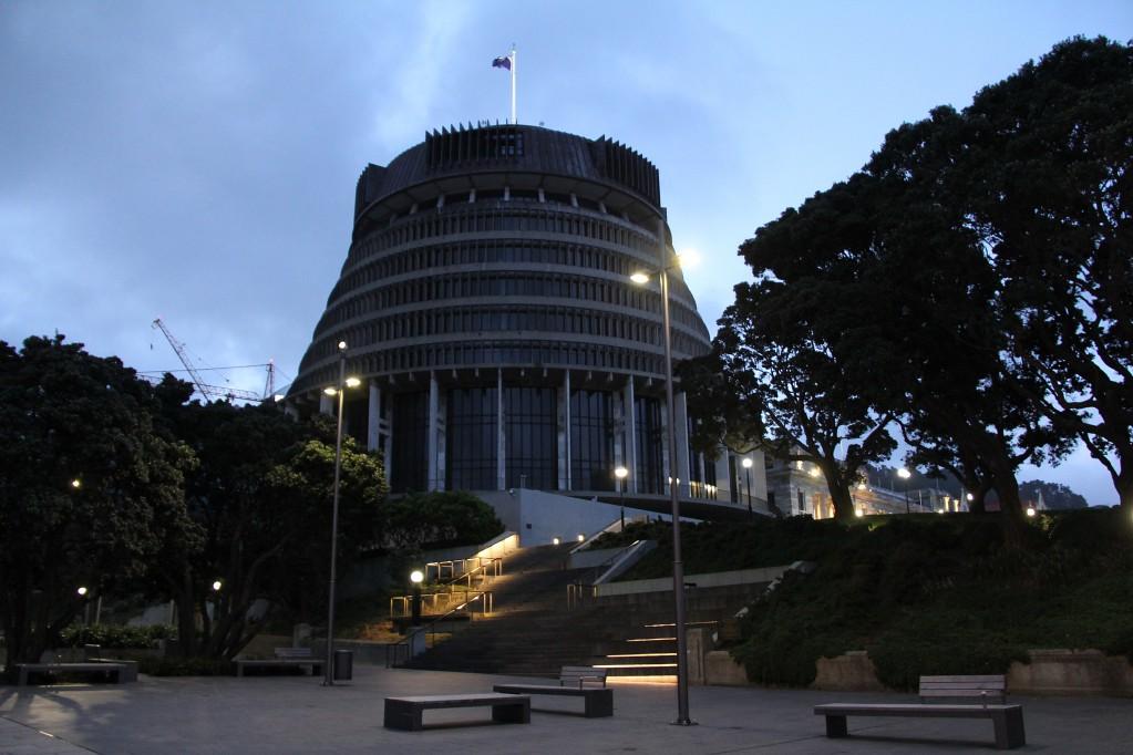 Веллингтон - ночная прогулка по столице Новой Зеландии