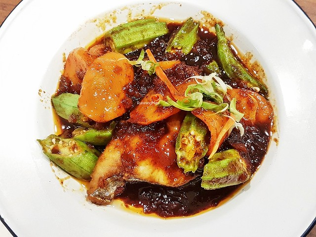 Seaweed Sauce Fish Fillet