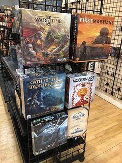 Family Game Store endcap October 14, 2017 | by DocOperon
