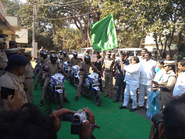 RapidCop Launch at Vikarabad