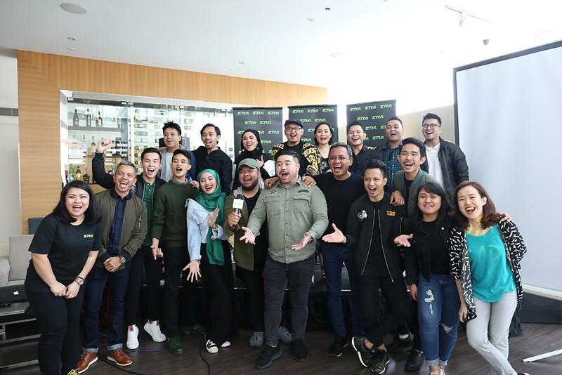 Keluarga besar ERA Sarawak yang ceria dan bersemangat