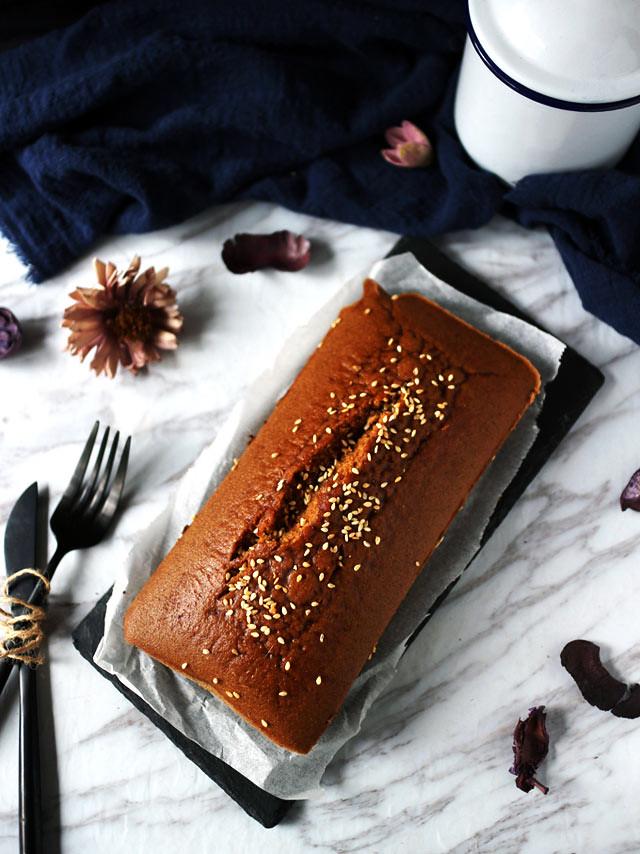 全素無麵粉黑糖糕 vegan-brown-sugar-cake (3)