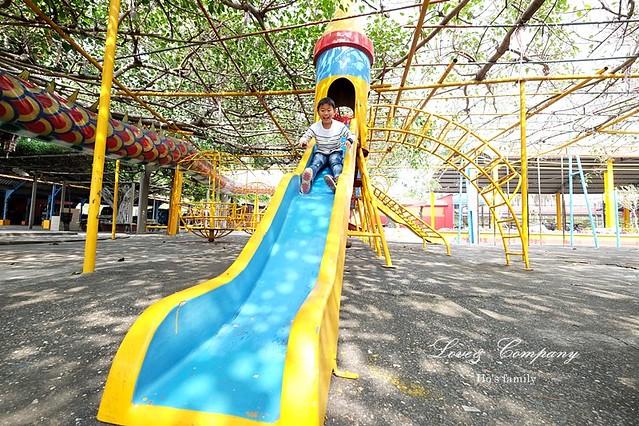 【高雄親子景點】路竹南巡代天宮兒童遊戲場13