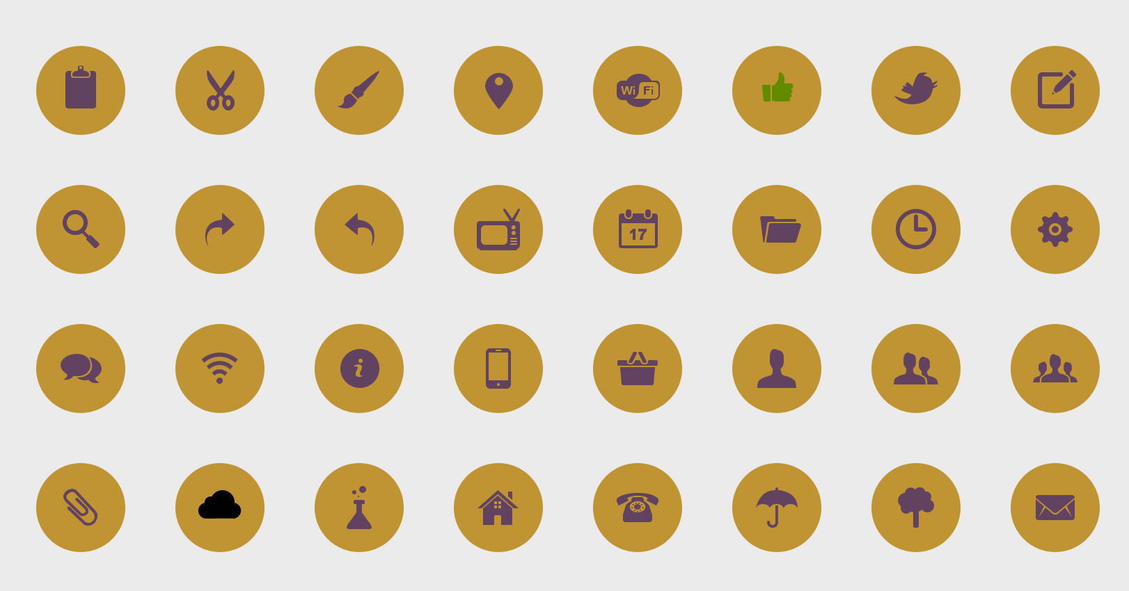 Web Icons – all icons in the format .PSD