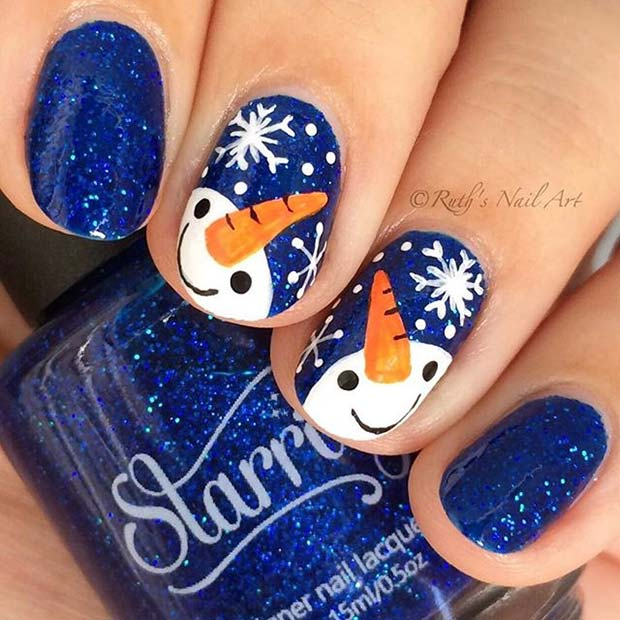 Winter Nail Art Ideas And Beauty Trends Nails C