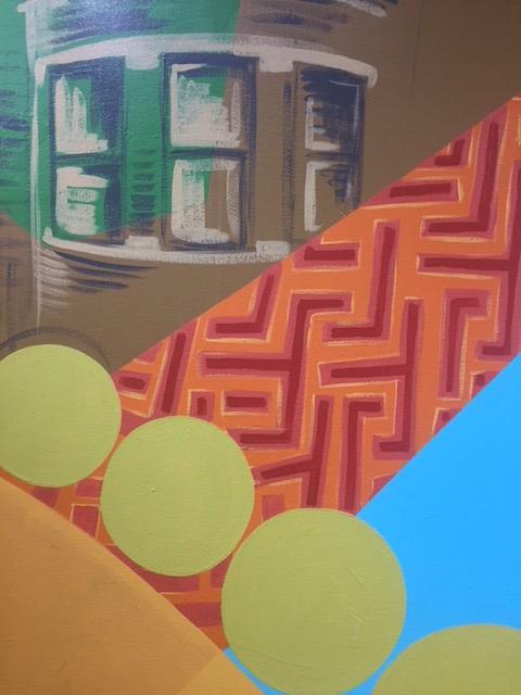 Dorian Sylvain's mural close ups
