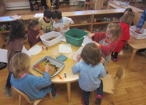 suminagashi paper making