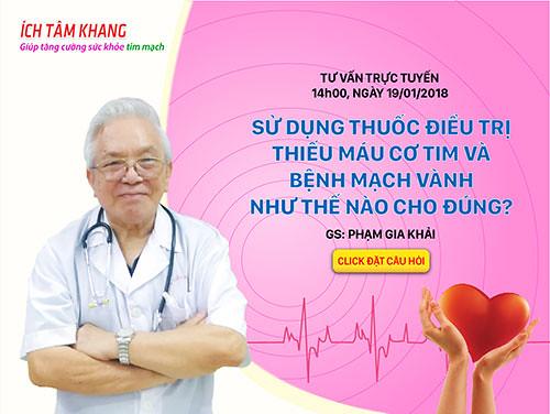 GS. Phạm Gia Khải – nguyên Chủ tịch Hội Tim mạch Việt Nam