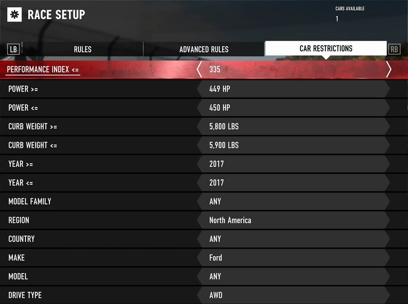 FM7 Car List and How to Get Locked Cars - Page 35 - Forza Motorsport