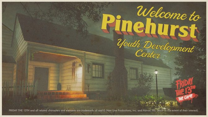 Friday the 13th: the Game - Pinehurst map