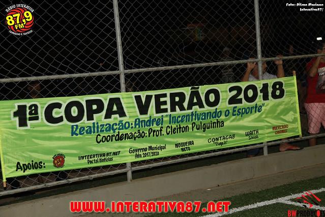 1º COPA VERÃO DE FUTEBOL SOCIETY
