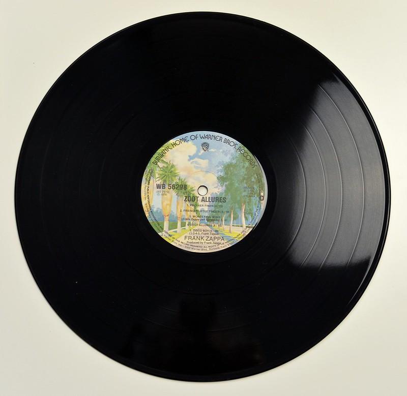 Frank Zappa Zoot Allures Prog Rock Avant Garde Vinyl