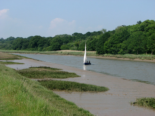 The River Colne near Rowhedge