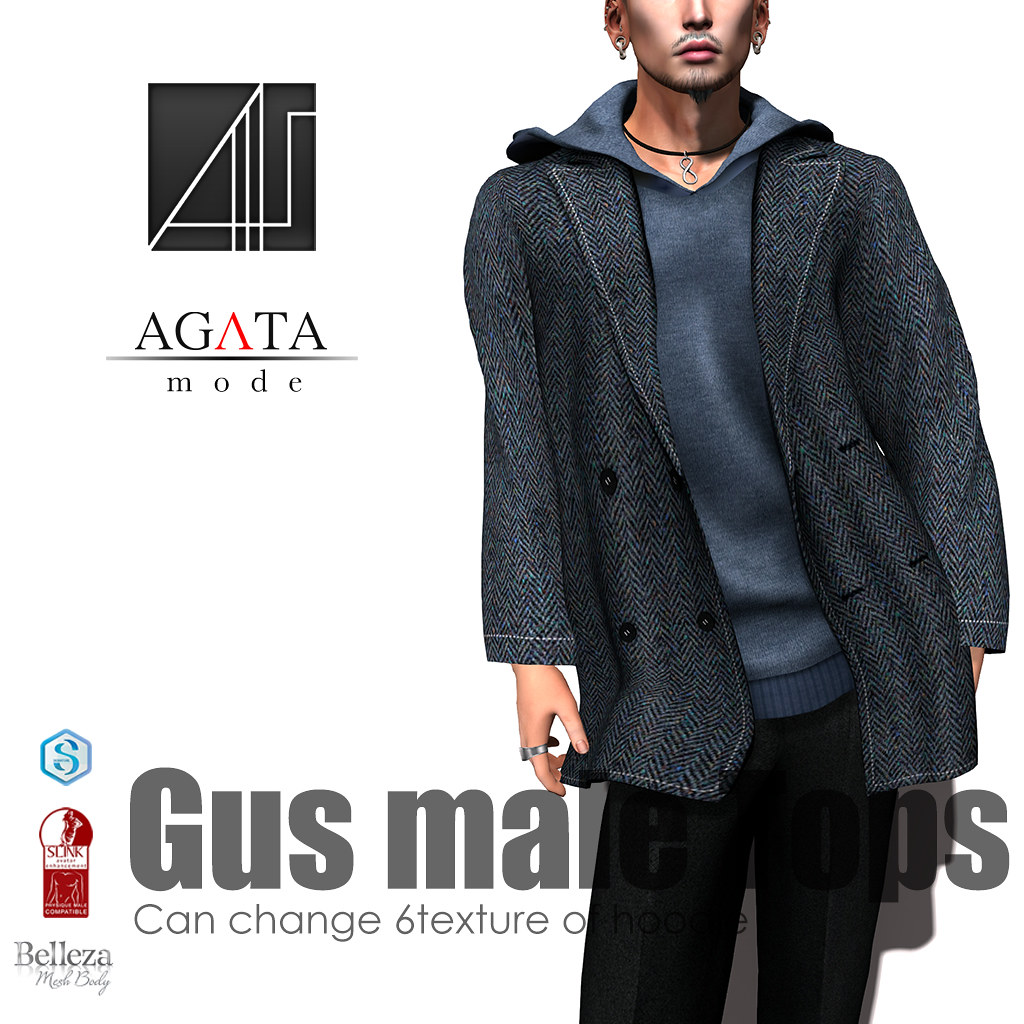 Gus Jacket and hoodie @ HME