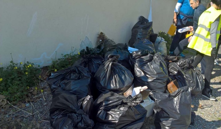 Associazione Fare Verde - Il mare d'inverno rifiuti