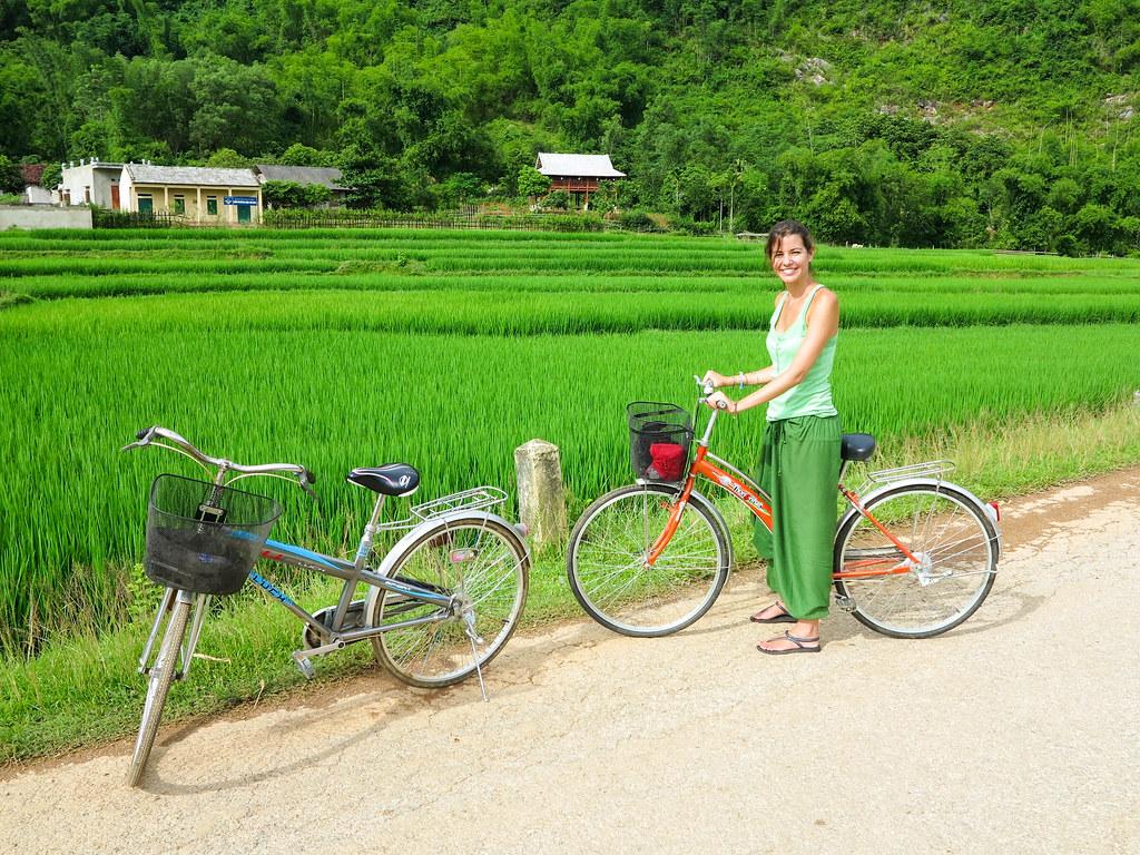 Paseo en bicicleta por Mai Chau