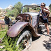 Small photo of Old jalopy along the Wall Street Mill trail