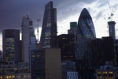 City of London, Night View
