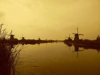 Mulini a vento di Kinderdijk - Olanda