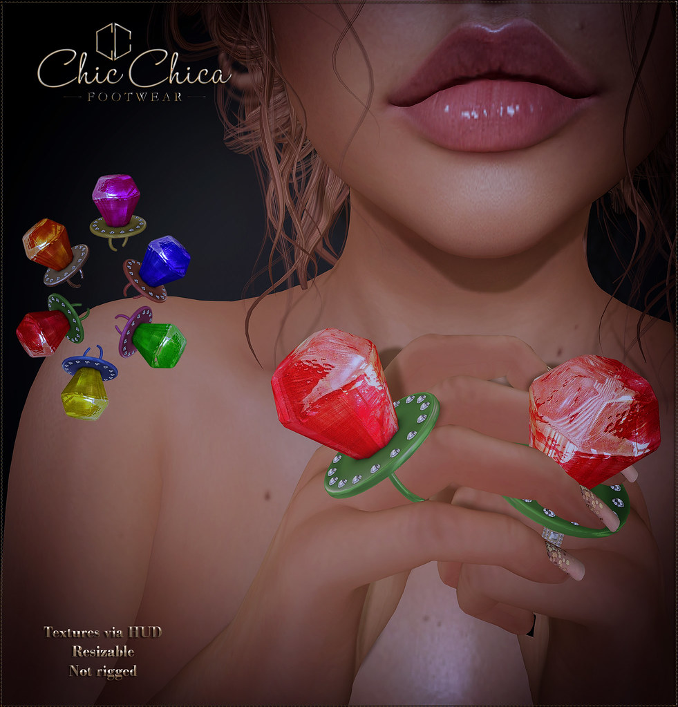 Pop Ring by ChicChica @ The Chapter Four soon - TeleportHub.com Live!