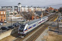 2018-01-15 1350 MARC 80 on P931, Gaithersburg, MD