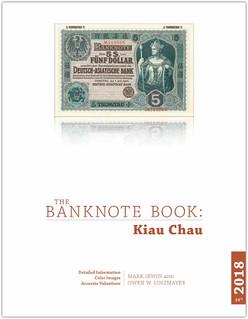 Bank Note Book Kiau Chau chapter cover
