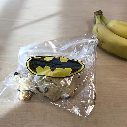 I'm Batman. I've got his snack anyway.