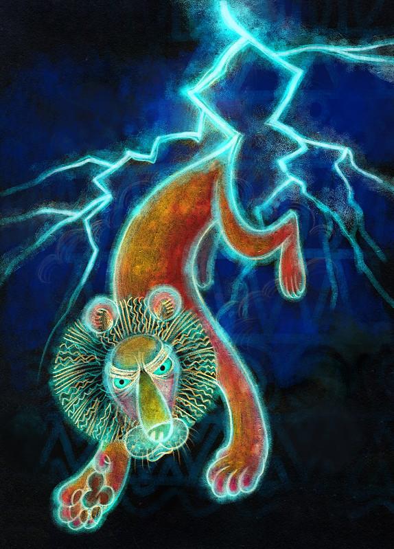 07 тема молния лев
