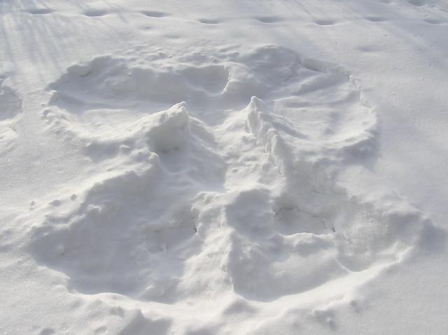 Snow Angel/ Sauna Angel