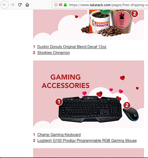 Quality Gaming Keyboard | Boyfriend Gift Idea on a Budget at Takatack.com!