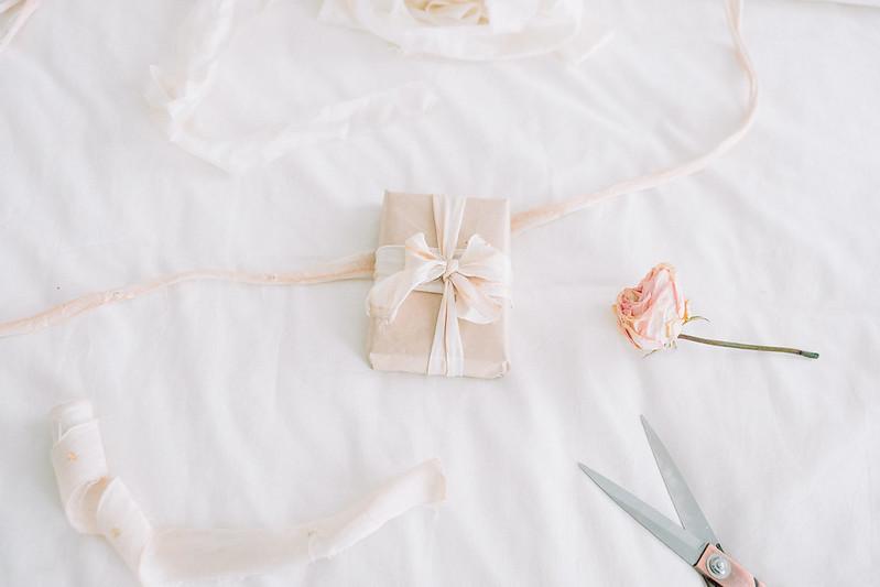 Beet Dyed Silk Ribbons - DIY Dyed Silk Ribbons