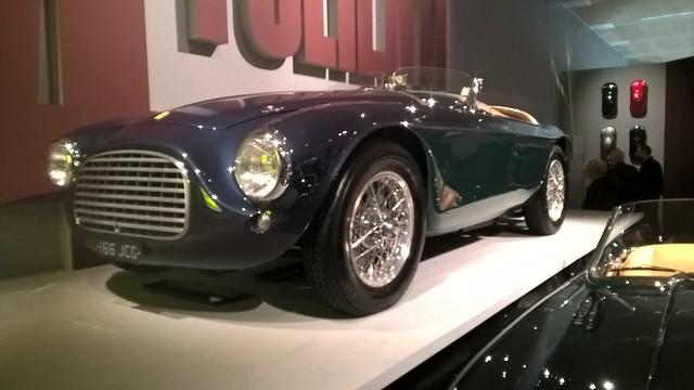 "1950 Ferrari 166 MM (""barchetta"")"