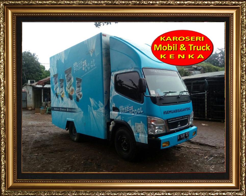 Karoseri Truck Promosi Gasby - 2