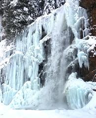 Franklin Falls in Ice