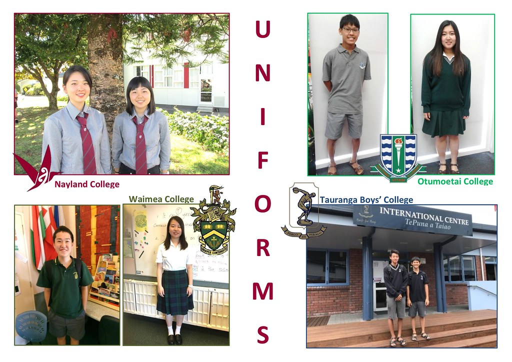 Year long students uniforms