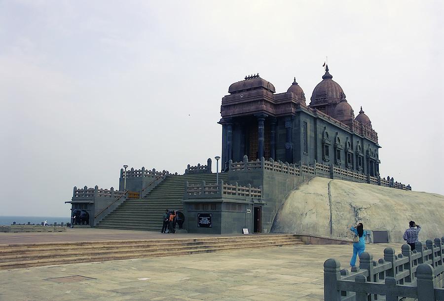 Канниякумари, мемориал Вивекананды © Kartzon Dream - авторские путешествия, авторские туры в Индию, тревел видео, фототуры