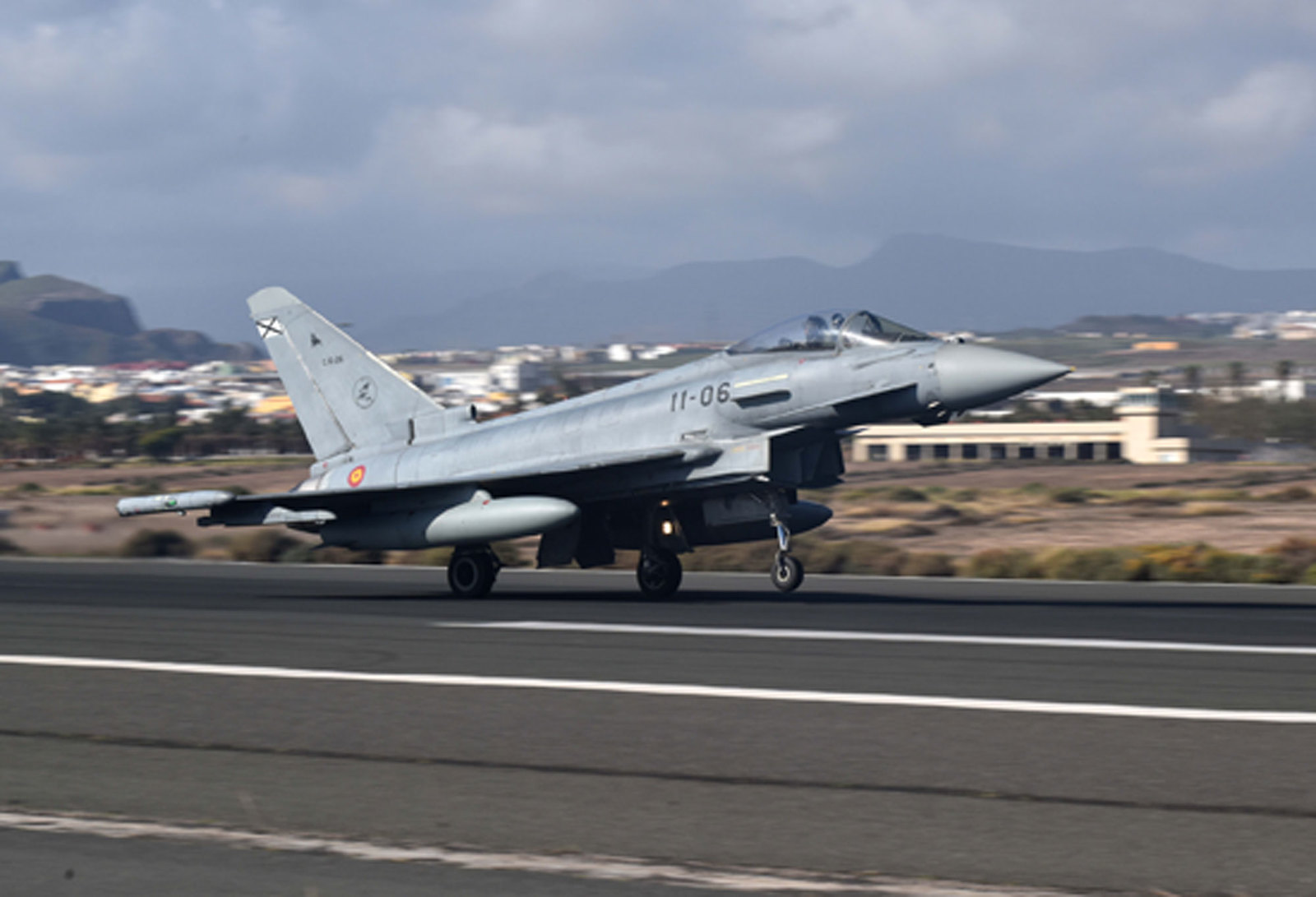 Eurofighter del Ala 11