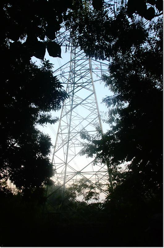 大山坑山高壓輸電塔 1