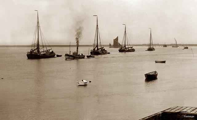 Dutch Eel Boats, Canvey Island