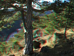 3D Anaglyph MTB Tour with balance&power