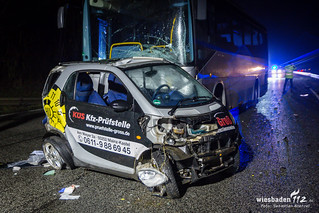 Tödlicher Unfall B455 Fort Biehler 25.01.18