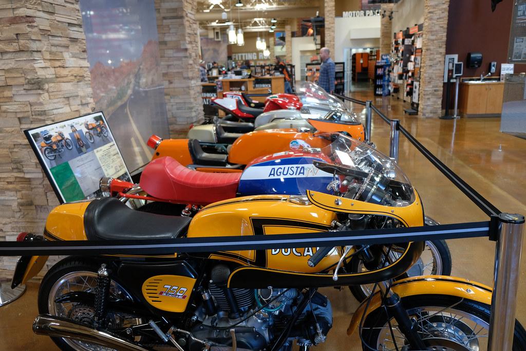 2018-01-27 Vintage Race Bike Museum @ Red Rock Harley-Davidson