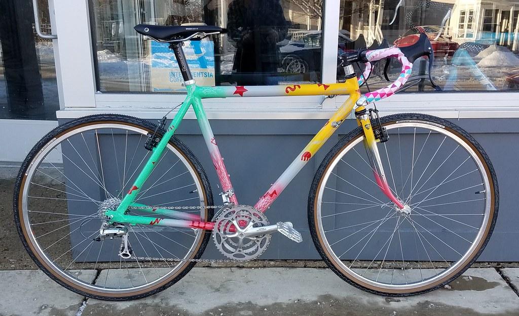 1998 Klein Navigator - CRAZY repaint and retro-mod - Bike Forums